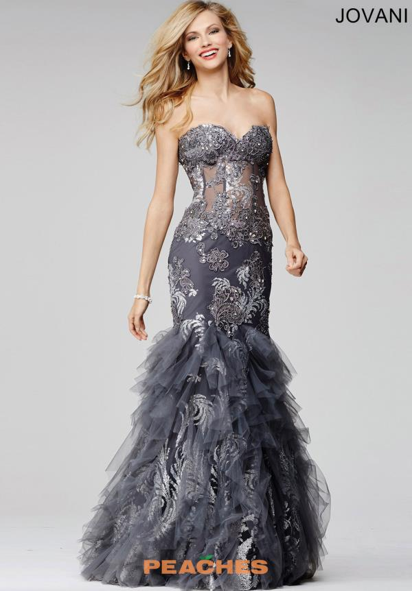 Corset Fitted Jovani Dress 88893