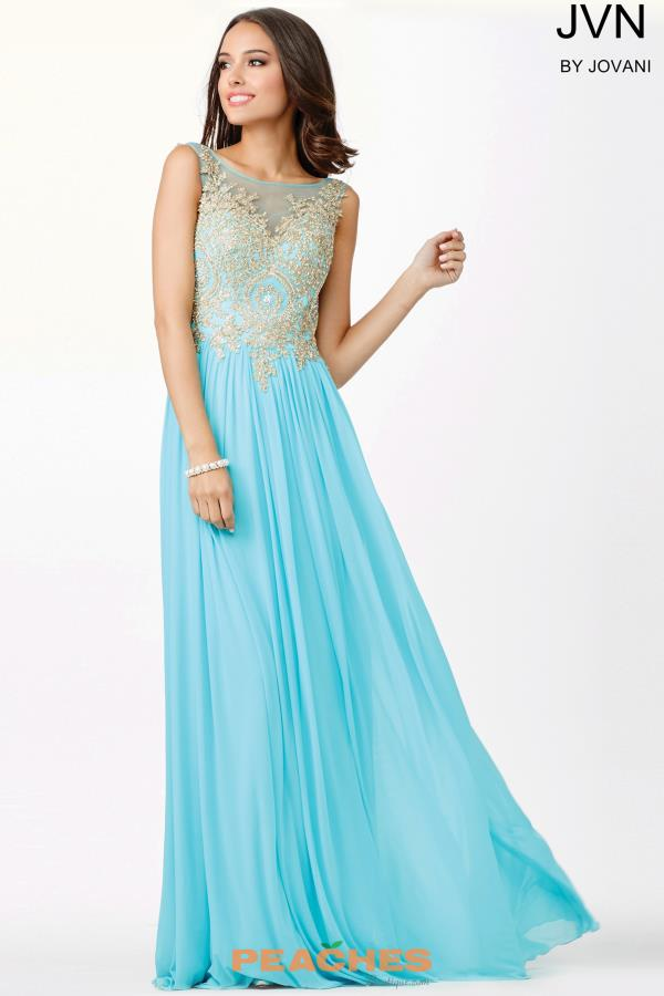 Long A Line JVN by Jovani Dress JVN31494