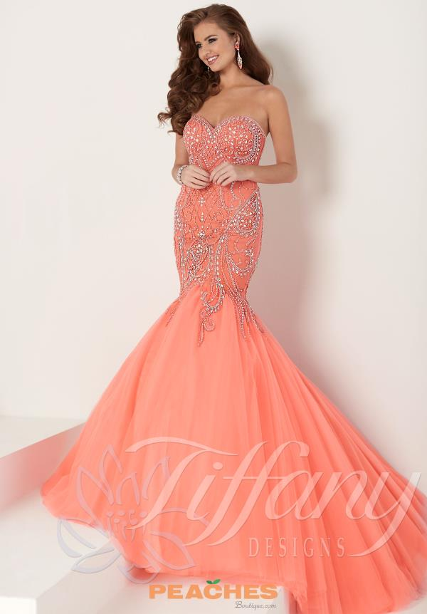Coral Prom Dress What Color Shoes