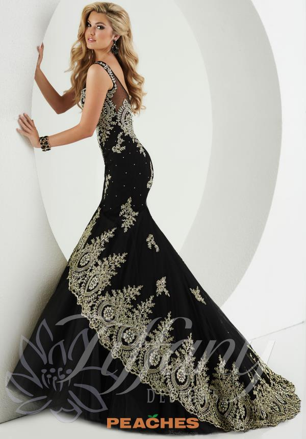 Tiffany Beaded Long Prom Dress 16171
