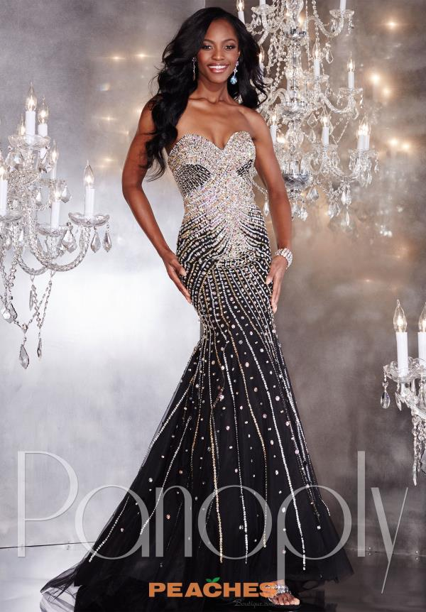 Aqua Panoply Beaded Pageant Dress 14740