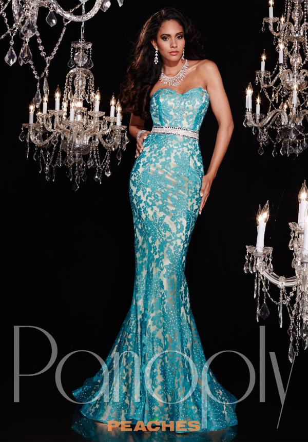 Strapless Lace Panoply Dress 14750