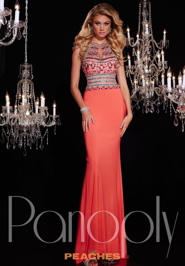 Panoply Beaded Halter Top Dress 14762