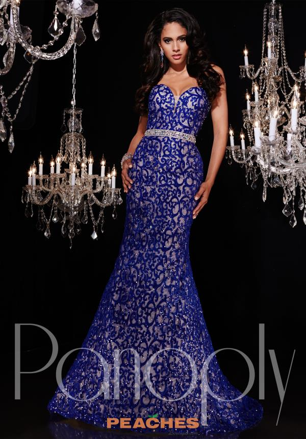 Strapless Beaded Panoply Dress 14772