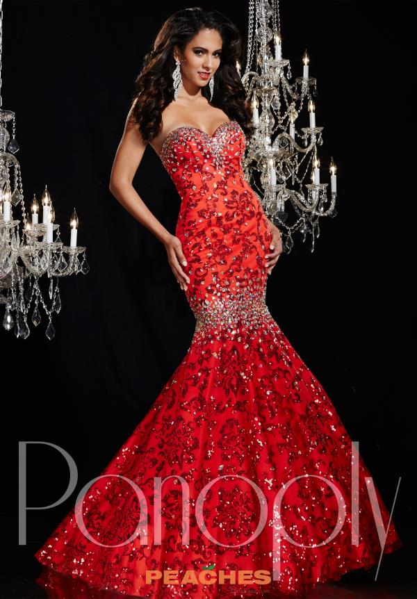 Strapless Beaded Panoply Dress 14783