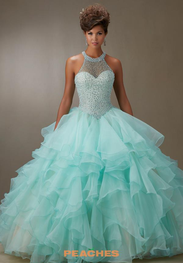 Vizcaya Quinceanera Layered Skirt Dress 89074