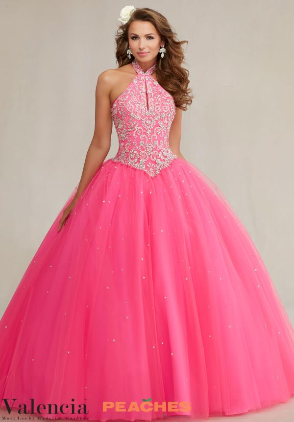 Vizcaya Quinceanera Beaded Gown 89084