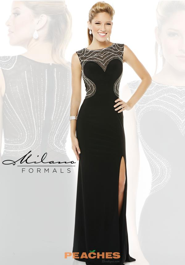 Milano Formals Formal Fitted Dress E1884