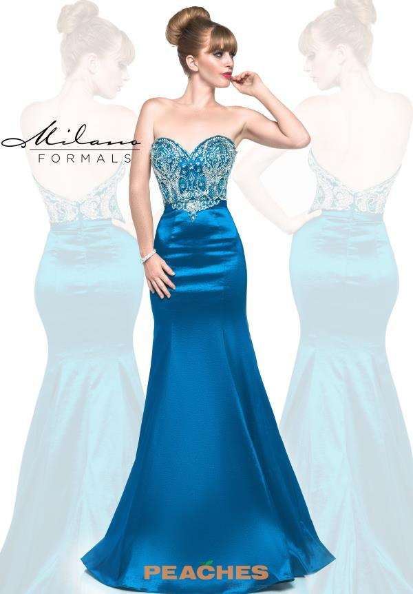 Milano Formals Fit and Flare Dress E1842