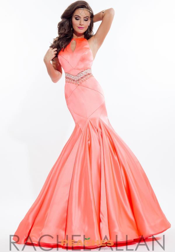 6c4fc5f6fc Rachel Allan Dress 7091 | PeachesBoutique.com