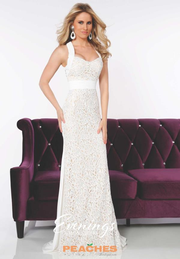 Two Straps Fitted Evenings by Mon Cheri Dress MCE11635