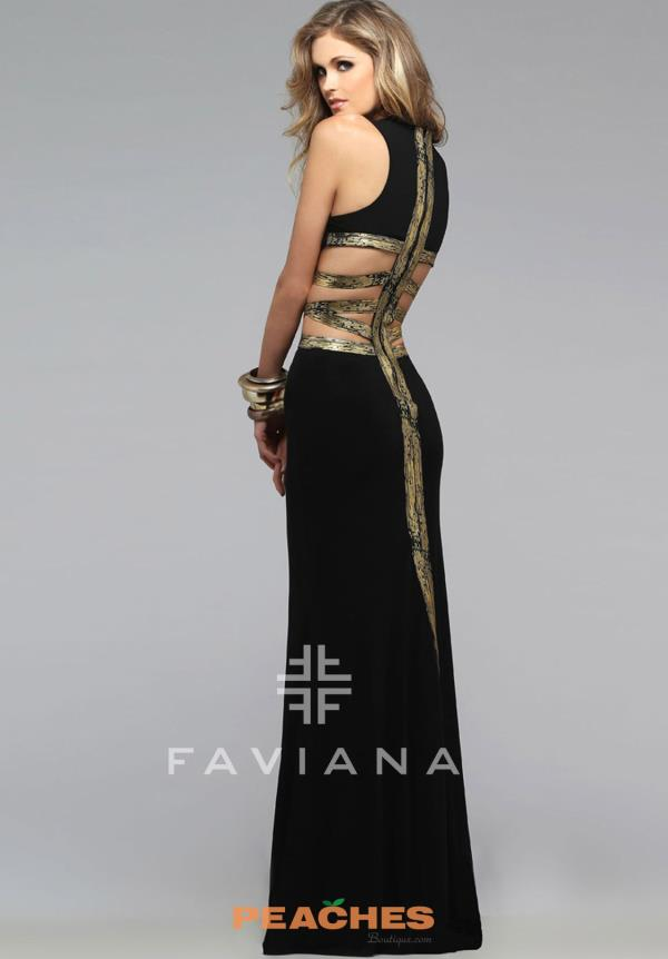 Sexy Cut Out Faviana Dress 7734