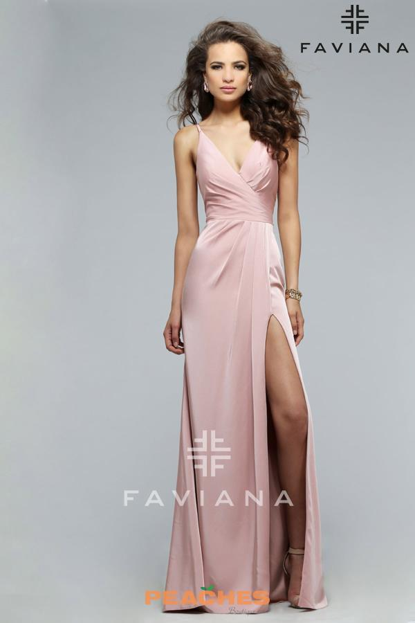 Gorgeous Long Faviana Dress 7755