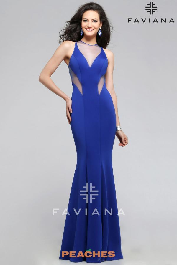 Sexy Open Back Faviana Dress 7792