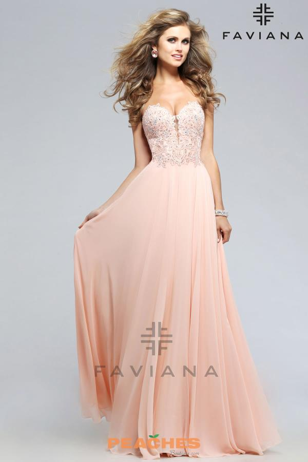 Sexy Open Back Faviana Dress S7815