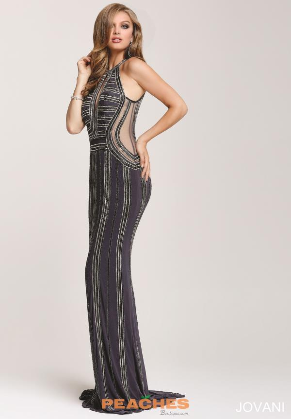 Jovani Fitted Long Dress 24512