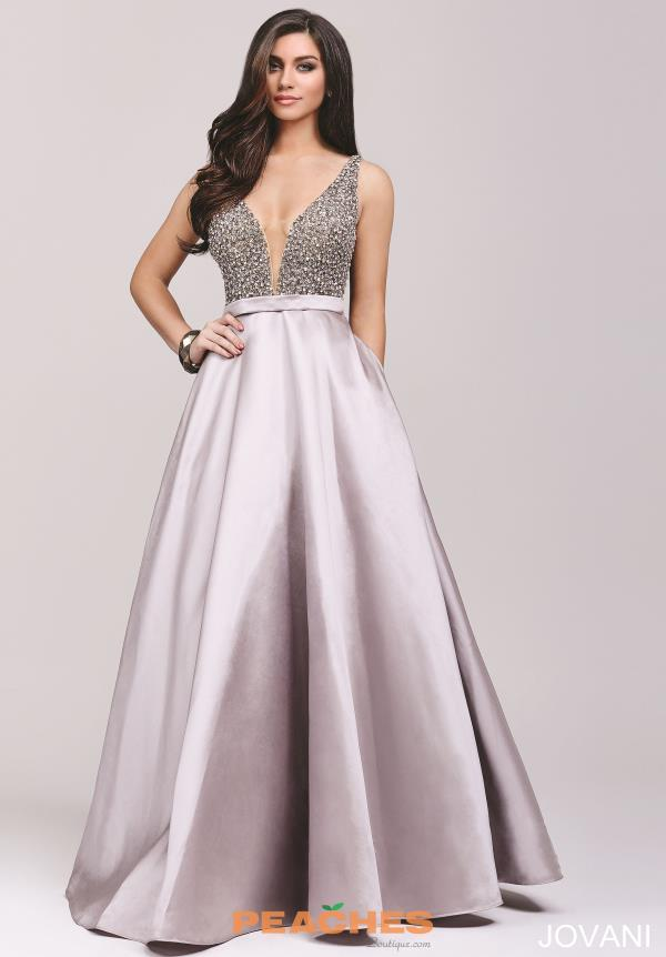 Long A Line Jovani Dress 32609