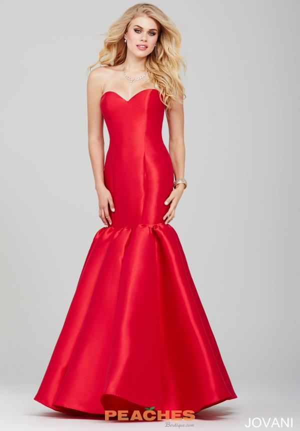 Jovani Sweetheart Fitted Dress 34048