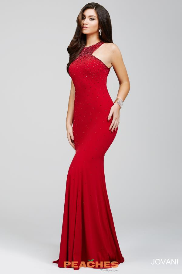 JVN by Jovani Long Fitted Dress JVN35097