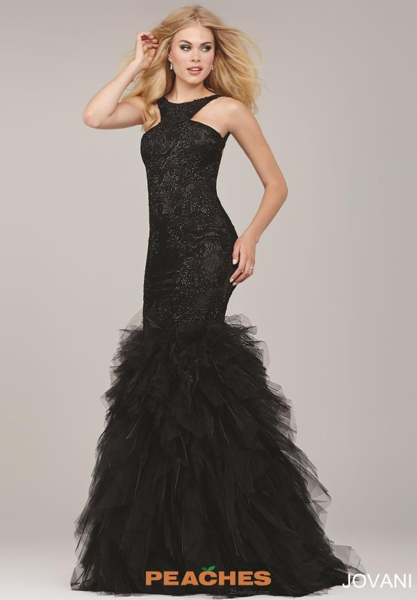 Sexy Open Back Jovani Dress 35104