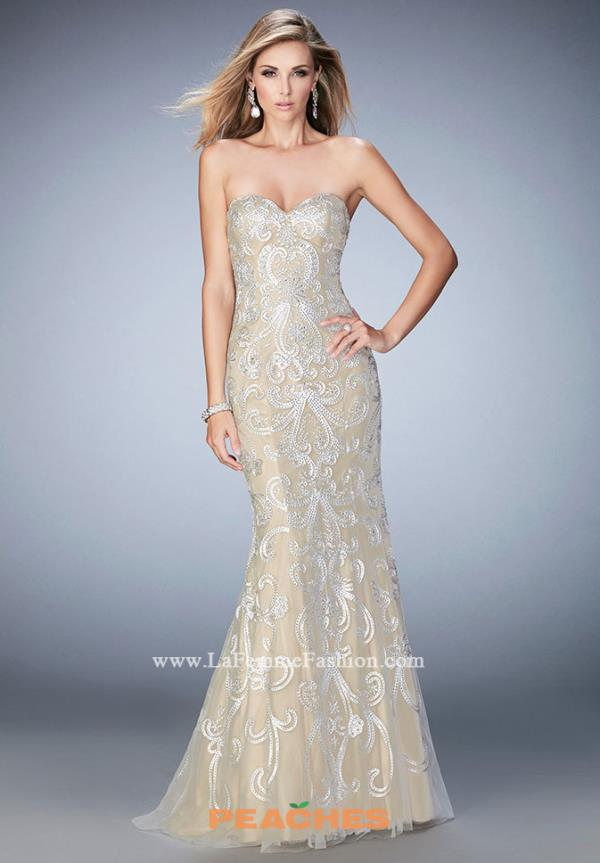 Gigi Beaded Long Dress 22931