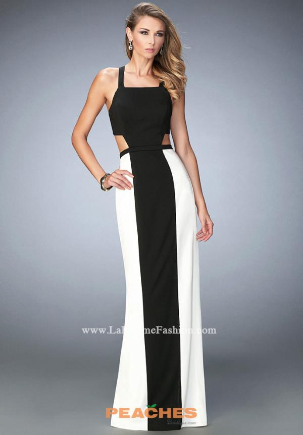 Sexy Back Jersey La Femme Dress 22310