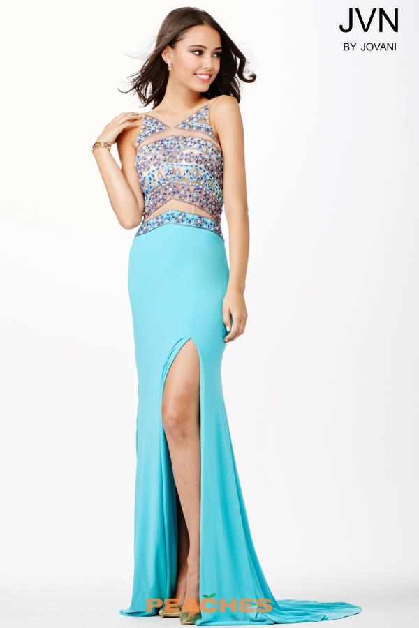 Long Jersey JVN by Jovani Dress JVN33391