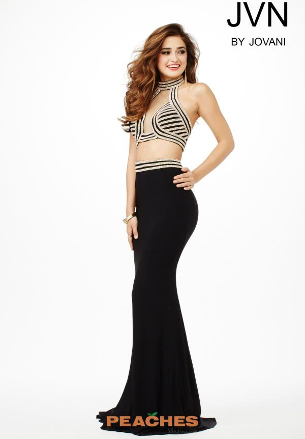 Halter Top Fitted JVN by Jovani Dress JVN33956