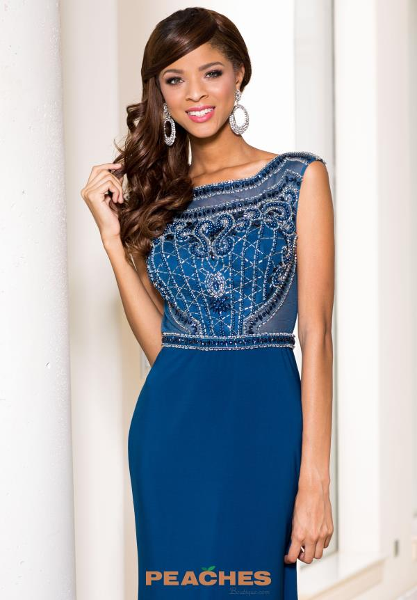 Sean Blue Jersey Dress 50842