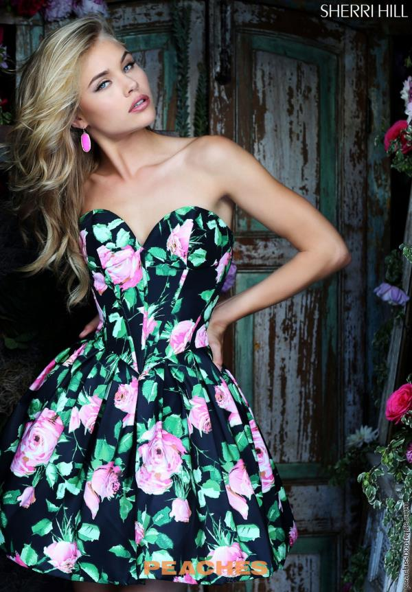 Sherri Hill Semi Formal Dress 50146