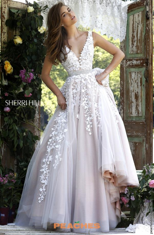 Sherri hill dress 11335 peachesboutique sherri hill v neckline a line dress 11335 junglespirit Images