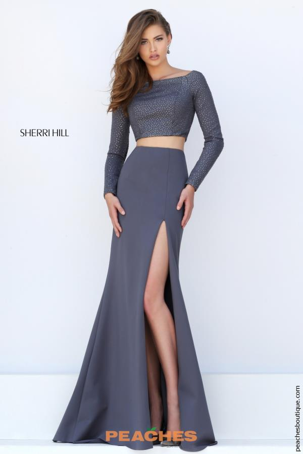 Sherri Hill Fitted Two Piece Dress 50209