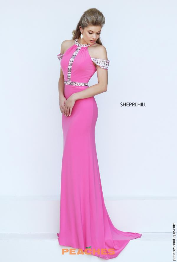 Sherri Hill Long Fitted Dress 50341