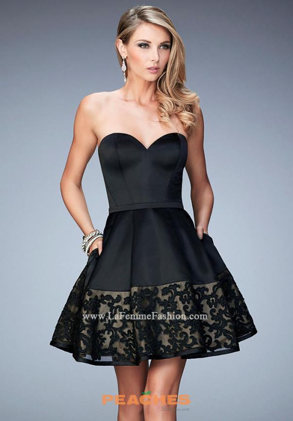 La Femme Semi Formal Dress 22330