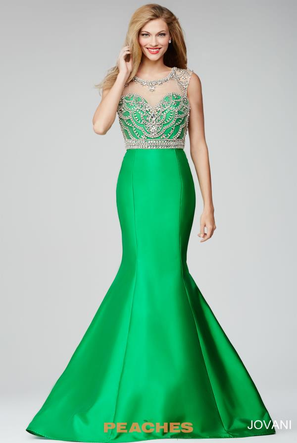 Jovani Beaded Mermaid Dress 22637
