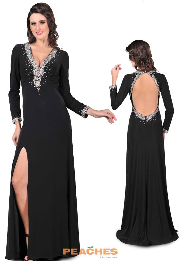 Romance Couture Fitted Long Dress RM264