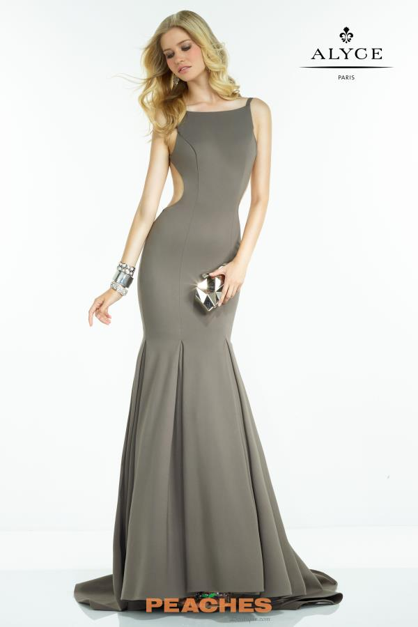 Sexy Back Mermaid Alyce Paris Dress 2525