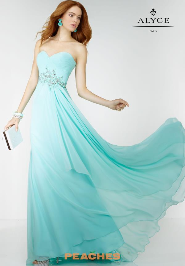 Alyce Paris Sweetheart A Line Prom Dress 6510