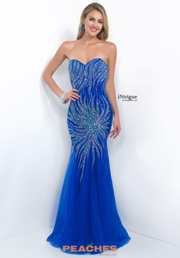 Intrigue by Blush Beaded Mermaid Dress 174