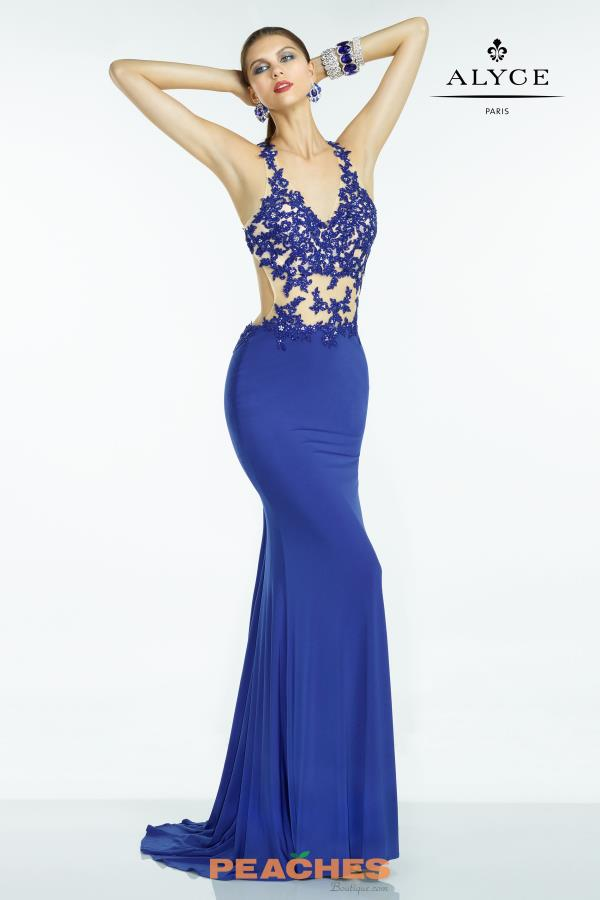 B'Dazzle Jersey Fitted Dress 35769