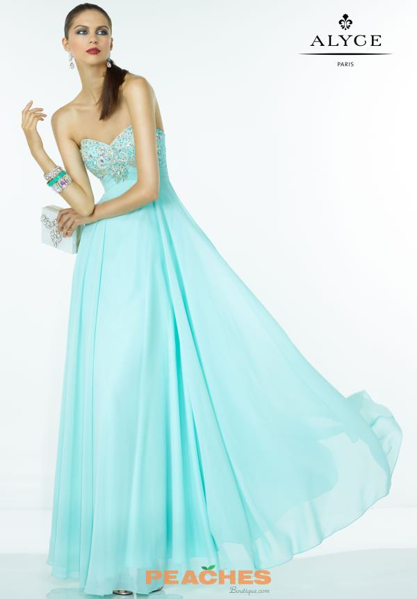 B'Dazzle Long Beaded Prom Dress 35786