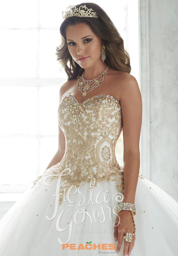Sweetheart Quinceanera Dress 56286 by Tiffany