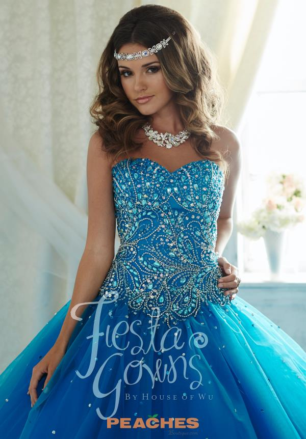 Tiffany Beaded Quinceanera Ball Gown Dress 56289