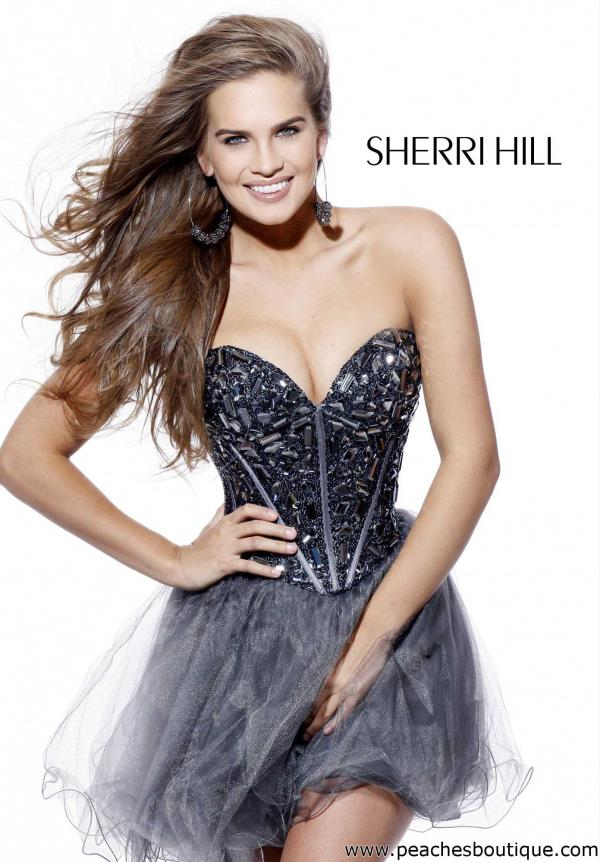 Sherri Hill Short Dress 1403