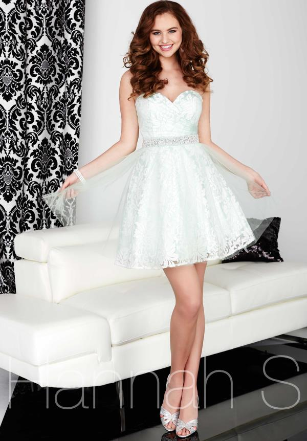 Strapless Short Hannah S Dress 27020
