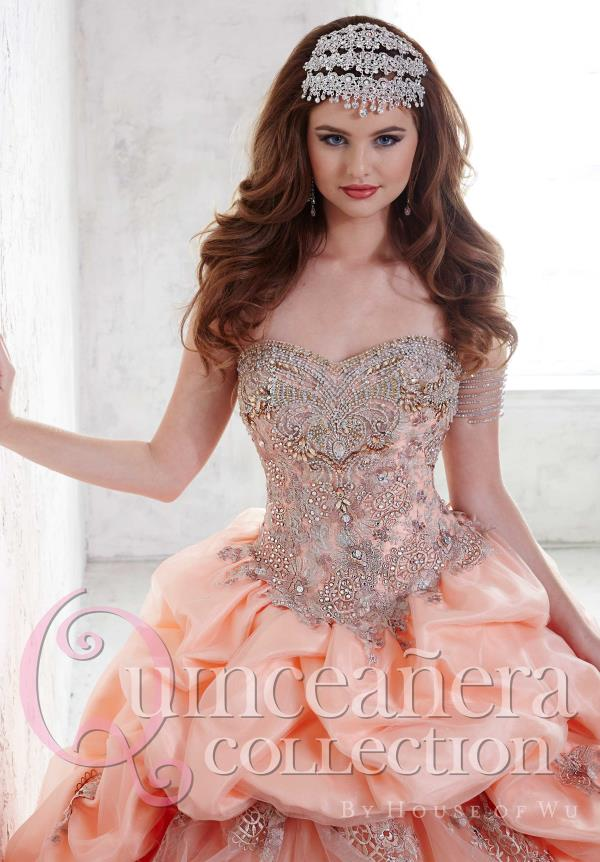 Tiffany Sweatheart Neckline Beaded Quinceanera Dress 26812