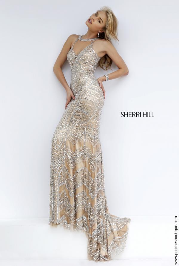 Sherri Hill Beaded Long Dress 1959
