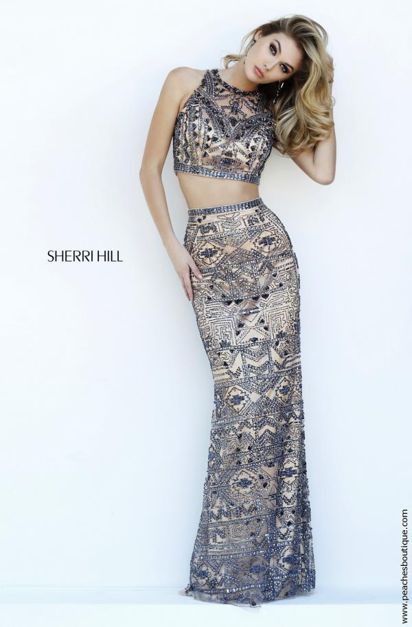 Sherri Hill Two Piece Beaded Dress 1977