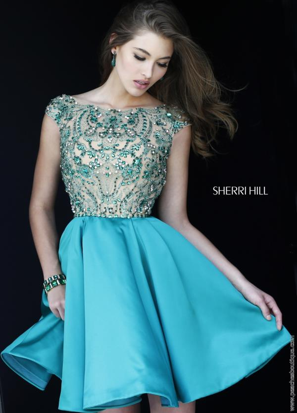 Sherri Hill Short Semi Formal Dress 32273