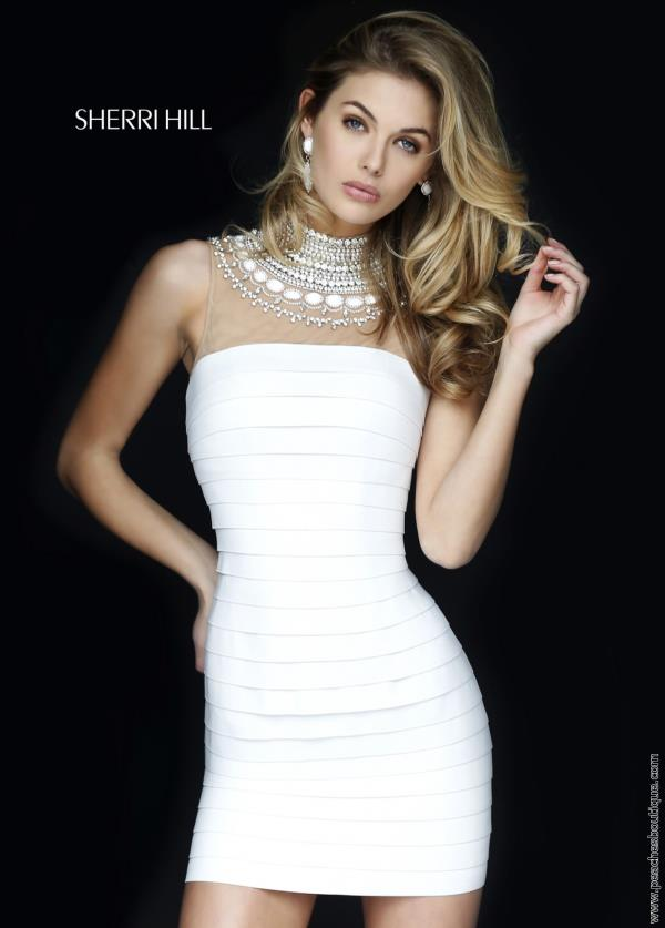 Sherri Hill Short Stunning Fitted Dress 32283